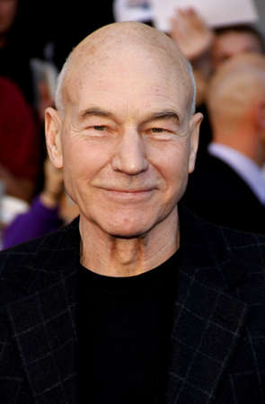 Patrick Stewart at the Los Angeles premiere of Gnomeo And Juliet held at the El Capitan Theater in Hollywood on January 23, 2011.