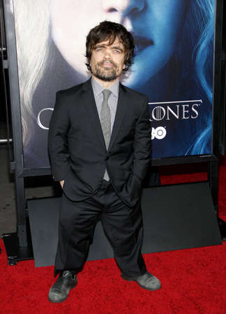 Peter Dinklage at the HBOs third season premiere of Game of Thrones held at the TCL Chinese Theater in in Los Angeles, United States, 180313.