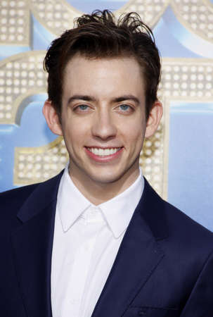 glee: Kevin McHale at the Los Angeles premiere of Glee: The 3D Concert Movie held at the Regency Village Theater in Westwood on August 6, 2011.