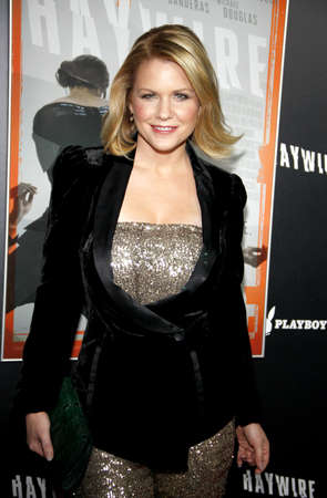 premiere: Carrie Keagan at the Los Angeles premiere of Haywire held at the DGA Theater in Hollywood on January 5, 2012.