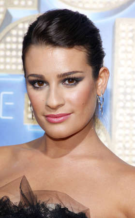 lea: Lea Michele at the Los Angeles premiere of Glee: The 3D Concert Movie held at the Regency Village Theater in Westwood on August 6, 2011.