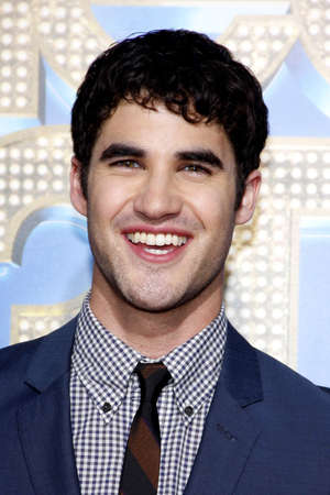Darren Criss at the Los Angeles premiere of Glee: The 3D Concert Movie held at the Regency Village Theater in Westwood on August 6, 2011.