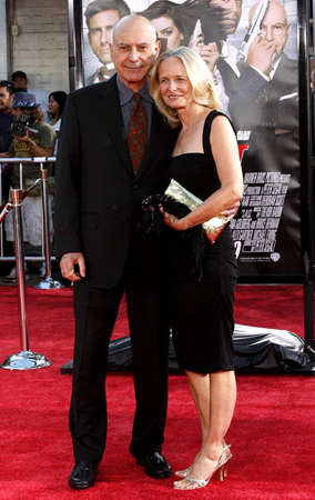Alan Arkin and Suzanne Arkin at the Los Angeles premiere of Get Smart held at the Mann Village Theater in Westwood on June 16, 2008.
