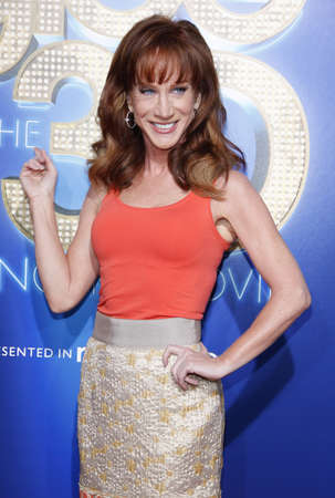 glee: Kathy Griffin at the Los Angeles premiere of Glee: The 3D Concert Movie held at the Regency Village Theatre in Westwood on August 6, 2011. Credit: Lumeimages.com