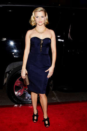 reese: Reese Witherspoon at the Los Angeles premiere of Four Christmases held at the Grauman's Chinese Theater in Hollywood on November 20, 2008. Editorial