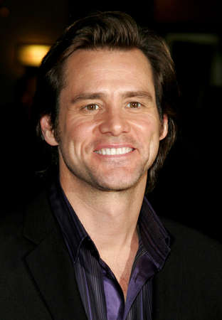 dick: Jim Carrey attends the Los Angeles Premiere of Fun with Dick and Jane held at The Mann Village Theatres in Westwood, California, United States on December 14, 2005.