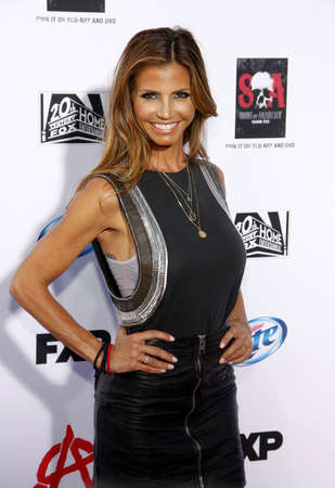 charisma: Charisma Carpenter at the FXs Season 6 Premiere Screening of Sons Of Anarchy held at the Dolby Theatre in Hollywood, USA on September 7, 2013.