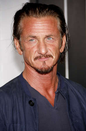 sean: Sean Penn at the Los Angeles premiere of Gangster Squad held at the Graumans Chinese Theater in Hollywood on January 7, 2013. Editorial