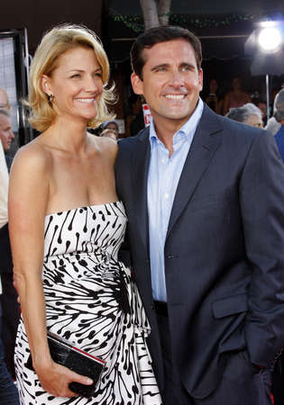 steve: Steve Carell and Nancy Carell at the Los Angeles premiere of Get Smart held at the Mann Village Theater in Westwood on June 16, 2008. Editorial