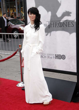 """lena: Lena Headey at the HBO's third season premiere of """"Game of Thrones"""" held at the TCL Chinese Theater in in Los Angeles, United States, 180313."""