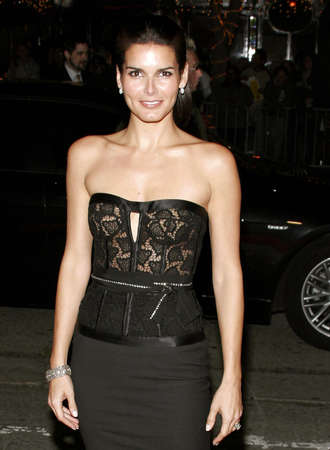 dick: Angie Harmon attends the Los Angeles Premiere of Fun with Dick and Jane held at The Mann Village Theatres in Westwood, California, United States on December 14, 2005.