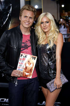 Montag: Heidi Montag and Spencer Pratt at the Los Angeles special screening of G.I. Joe: The Rise Of The Cobra held at the Graumans Chinese Theater in Hollywood on August 6, 2009.