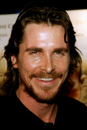 Christian Bale at the Los Angeles Premiere of Harsh Times held at the Crest Theater in Westwood, USA on November 5, 2006.