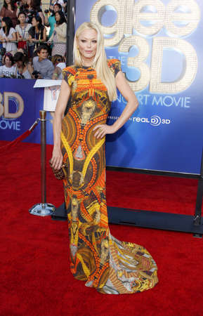 glee: Charlotte Ross at the Los Angeles premiere of Glee: The 3D Concert Movie held at the Regency Village Theatre in Westwood, USA on August 6, 2011.
