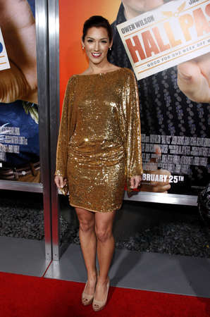 craig: Carly Craig at the Los Angeles premiere of Hall Pass held at the ArcLight Cinemas in Hollywood, USA on February 23, 2011. Editorial
