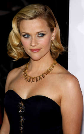 Reese Witherspoon at the Los Angeles premiere of Four Christmases held at the Graumans Chinese Theater in Hollywood, USA on November 20, 2008.