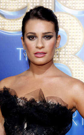 glee: Lea Michele at the Los Angeles premiere of Glee: The 3D Concert Movie held at the Regency Village Theatre in Westwood on August 6, 2011.