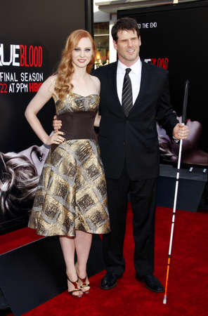 woll: Deborah Ann Woll at the Season 7 premiere of HBOs True Blood held at the TCL Chinese Theatre in Los Angeles, United States, 170614.