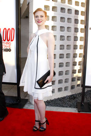 woll: HOLLYWOOD, CA - MAY 30, 2012: Deborah Ann Woll at the HBOs True Blood season 5 premiere held at the ArcLight Cinemas in Hollywood, USA on May 30, 2012.