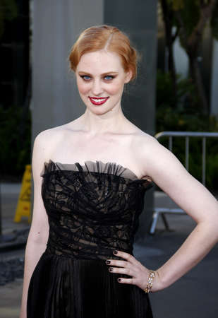 woll: HOLLYWOOD, CA - JUNE 21, 2011: Deborah Ann Woll at the HBOs season 4 premiere of True Blood held at the ArcLight Cinemas in Hollywood, USA on June 21, 2011.