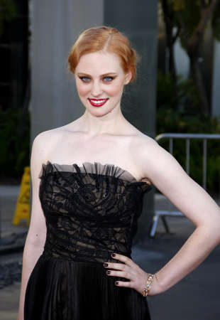 woll: Deborah Ann Woll at the HBOs season 4 premiere of True Blood held at the ArcLight Cinemas in Hollywood, USA on June 21, 2011.