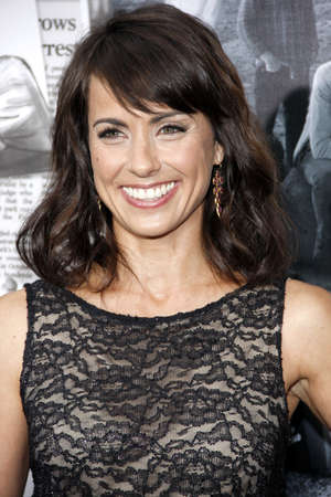newsroom: Constance Zimmer at the HBOs Season 2 Premiere of The Newsroom held at the Paramount Studios in Hollywood, USA on July 10, 2013. Editorial