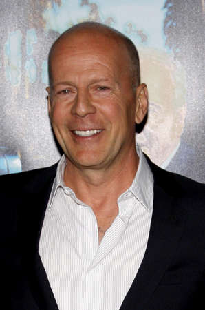willis: Bruce Willis at the HBOs His Way Los Angeles Premiere held at the Paramount Studios lot in Hollywood on March 22, 2011. Editorial