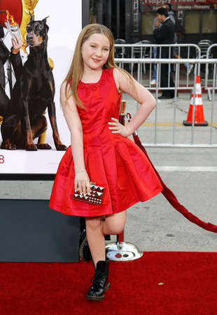 ella: Ella Anderson at the Los Angeles premiere of The Boss held at the Regency Village Theatre in Westwood, USA on March 28, 2016.
