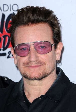 bono: Bono at the 2016 iHeartRadio Music Awards - Press Room held at the Forum in Inglewood, USA on April 3, 2016. Editorial