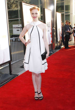 woll: HOLLYWOOD, CA - MAY 30, 2012: Deborah Ann Woll at the HBO's 'True Blood' season 5 premiere held at the ArcLight Cinemas in Hollywood, USA on May 30, 2012.