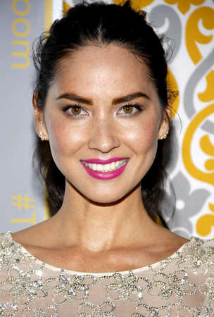 olivia: Olivia Munn at the Los Angeles premiere of HBOs The Newsroom Season 3 held at the DGA Theatre in Los Angeles, USA on November 4, 2014. Editorial