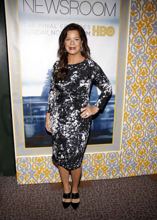 newsroom: Marcia Gay Harden at the Los Angeles premiere of HBOs The Newsroom Season 3 held at the DGA Theatre in Los Angeles, USA on November 4, 2014.