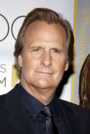 newsroom: Jeff Daniels at the Los Angeles premiere of HBOs The Newsroom Season 3 held at the DGA Theatre in Los Angeles, USA on November 4, 2014. Editorial