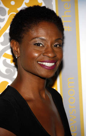 newsroom: Adina Porter at the Los Angeles premiere of HBOs The Newsroom Season 3 held at the DGA Theatre in Los Angeles, USA on November 4, 2014.