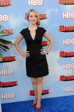 brink: Mary Faber at the HBOs Season premiere of Brink held at the Paramount Studios in Hollywood, USA on June 8, 2015. Editorial