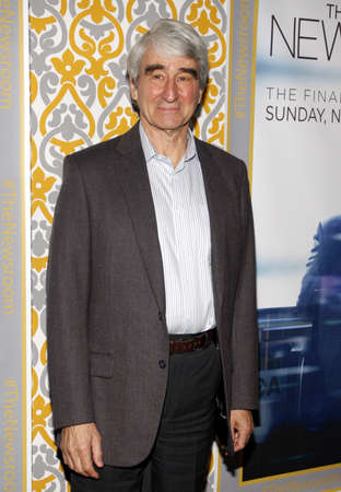 newsroom: Sam Waterston at the Los Angeles premiere of HBOs The Newsroom Season 3 held at the DGA Theatre in Los Angeles, USA on November 4, 2014.
