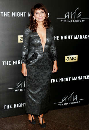 bier: Susanne Bier at the Los Angeles premiere of AMCs The Night Manager held at the DGA Theater in Hollywood, USA on April 5, 2016.