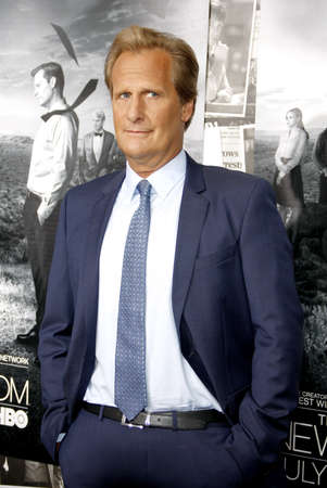 newsroom: Jeff Daniels at the HBOs Season 2 Premiere of The Newsroom held at the Paramount Studios in Hollywood, USA on July 10, 2013.