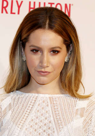 Ashley Tisdale at the 23rd Annual Race To Erase MS Gala held at the Beverly Hilton Hotel in Beverly Hills, USA on April 15, 2016.