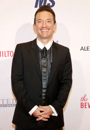 ms: David Faustino at the 23rd Annual Race To Erase MS Gala held at the Beverly Hilton Hotel in Beverly Hills, USA on April 15, 2016.