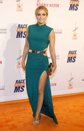 Carmen Electra at the 23rd Annual Race To Erase MS Gala held at the Beverly Hilton Hotel in Beverly Hills, USA on April 15, 2016.