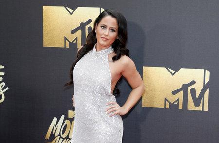 evans: Jenelle Evans at the 2016 MTV Movie Awards held at the Warner Bros. Studios in Burbank, USA on April 9, 2016.