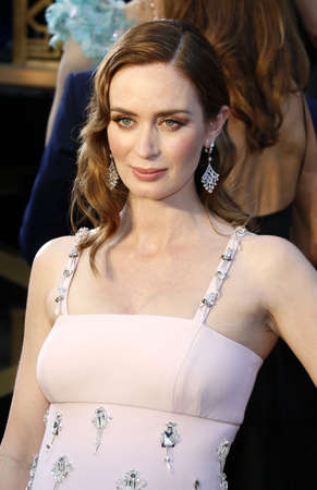 dolby: Emily Blunt at the 88th Annual Academy Awards held at the Dolby Theatre in Hollywood, USA on February 28, 2016. Editorial