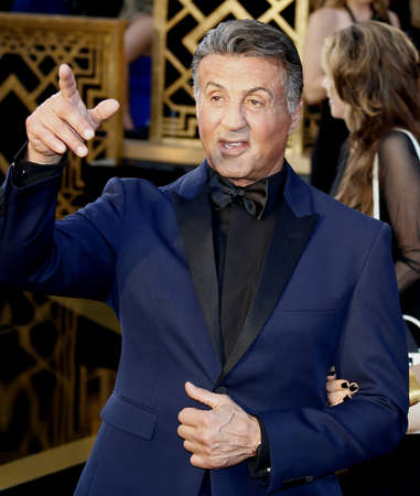 sylvester: Sylvester Stallone at the 88th Annual Academy Awards held at the Dolby Theatre in Hollywood, USA on February 28, 2016.