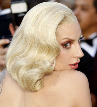gaga: Lady Gaga at the 88th Annual Academy Awards held at the Dolby Theatre in Hollywood, USA on February 28, 2016.