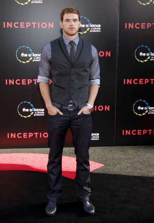 inception: Kellan Lutz at the Los Angeles premiere of Inception held at the Graumans Chinese Theatre in Hollywood on July 13, 2010.