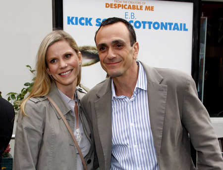 Hank Azaria at the Los Angeles premiere of Hop held at the Universal Studios Hollywood in Universal City on March 27, 2011. Editorial
