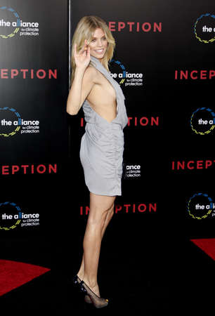 inception: AnnaLynne McCord at the Los Angeles premiere of Inception held at the Graumans Chinese Theatre in Hollywood on July 13, 2010. Editorial