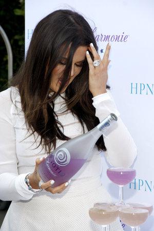 harmonie: Khloe Kardashian at the HPNOTIQ Harmonie Cocktail Recipe Launch held at the Mr. C Beverly Hills, USA on August 2, 2012.
