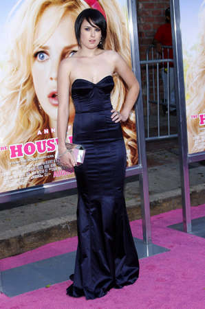 willis: Rumer Willis at the Los Angeles premiere of House Bunny held at the Mann Village Theatre in Westwood on August 20, 2008.